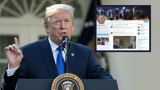 Revelan por qué la cuenta de Donald Trump en Twitter estuvo