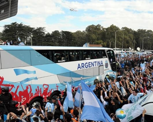 Presidenta fern ndez celebra arribo de la selecci n a for Noticias argentina farandula