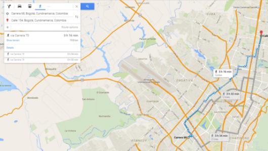 Ahora en google maps se podr consultar qu ruta de transmilenio o ahora en google maps se podr consultar qu ruta de transmilenio o sitp tomar gumiabroncs Choice Image