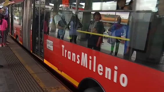 TransMilenio.