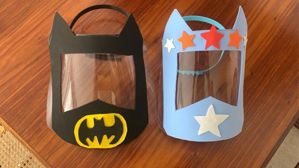 Manualidad: Máscara protectora para niños