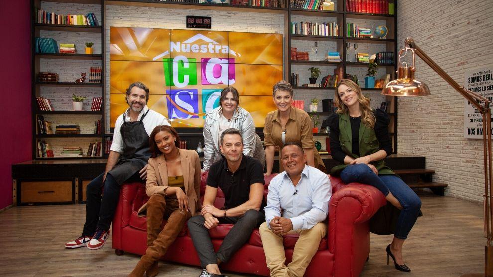 El elenco de Nuestra Casa, el nuevo programa de las mañanas del Canal RCN.