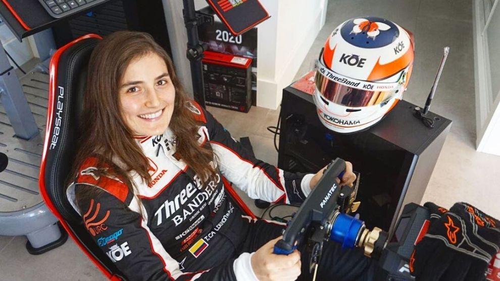 Tatiana Calderón (Tomada de Instagram)
