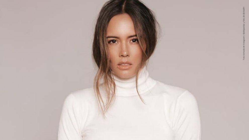 Alejandra Ávila posa para el lente de Camilo Leal.