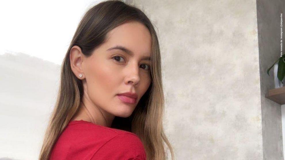 Que artista, Alejandra Avila sorprende a fans tras hacer un hermoso cuadro