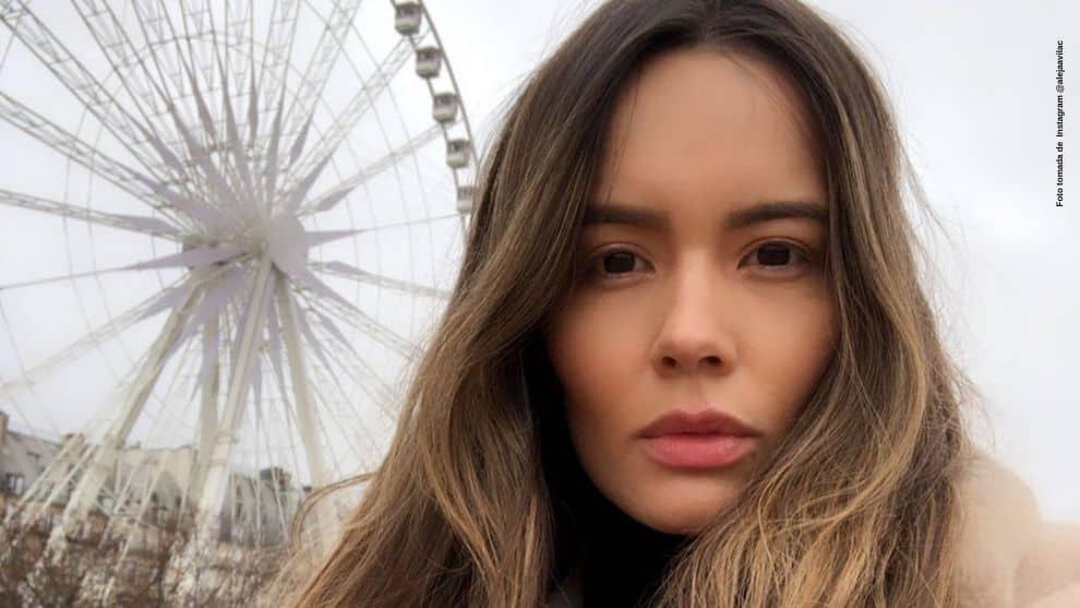 El sensual recuerdo que mostro Alejandra Avila en redes