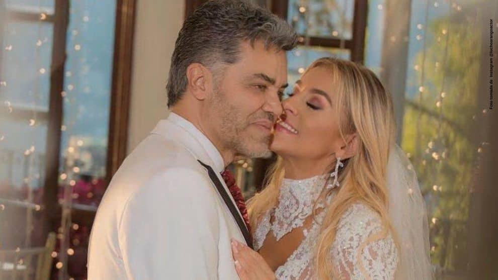 Así celebro Lucho Arango el cumple meses de casado
