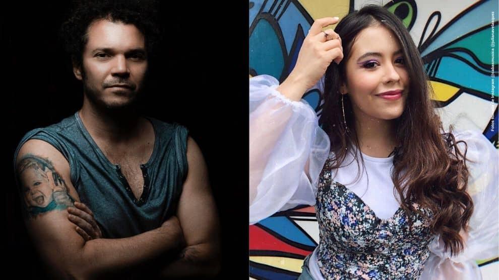 Cabas felicita a Juliana Velasquez por cantar cancion de el