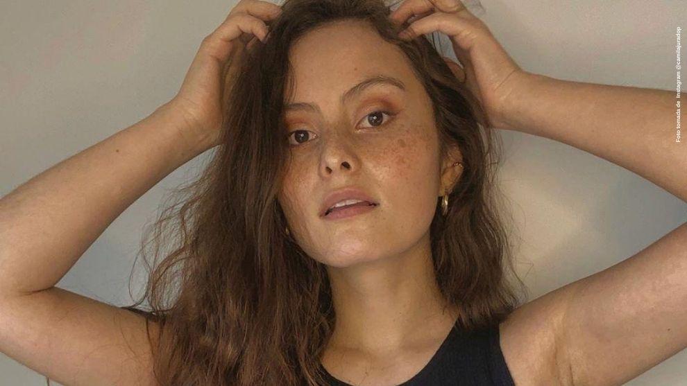 Camila Jurado saca risas a fans tras mostrarse con filtro y sin el