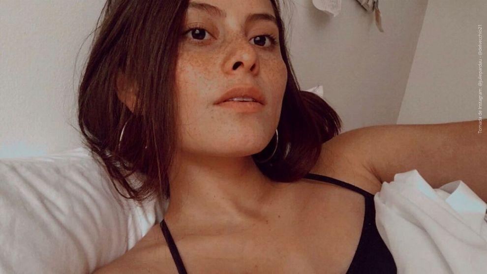 Camila Jurado en medio de la cuarentena por el coronavirus.