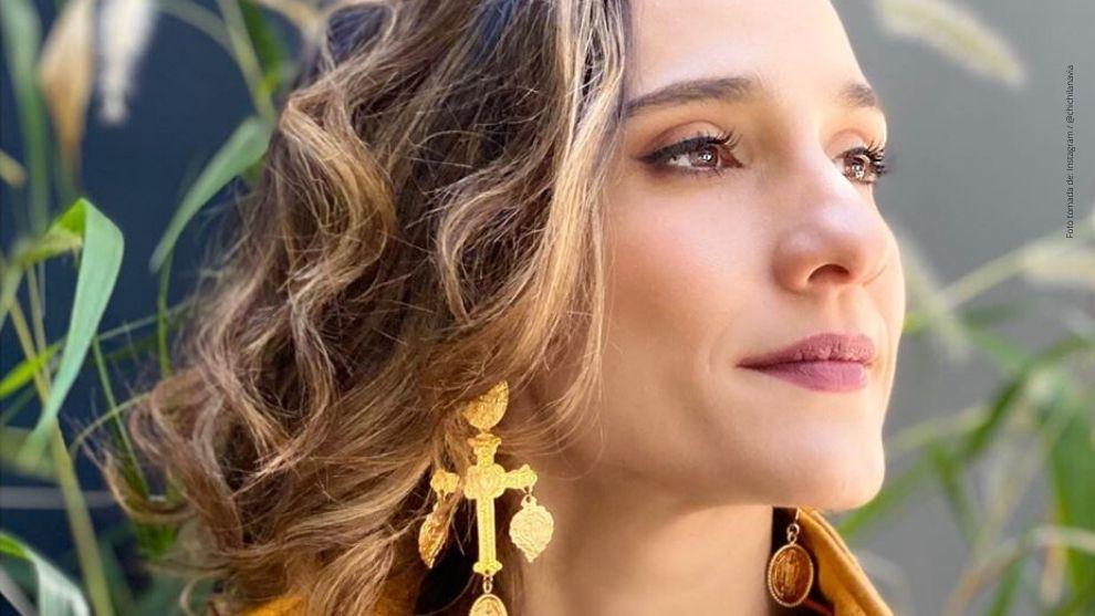La actriz Cecilia Navia.