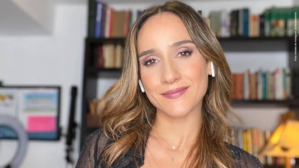 Con divertido video, Chichila Navia mostro parte de su dia en cuarentena