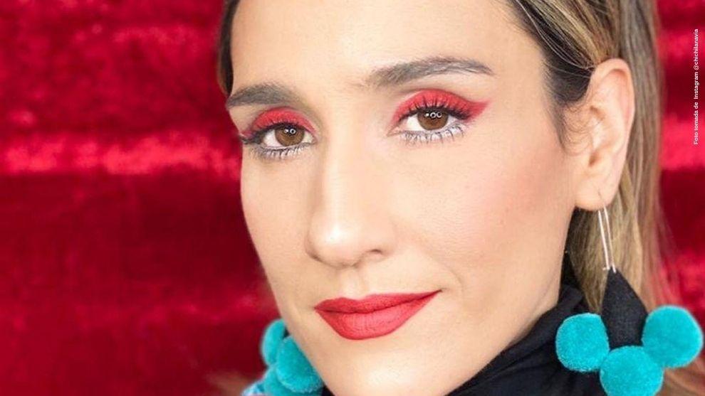 Con diferentes tipos de maquillaje, Chichila Navia cautivo a fans