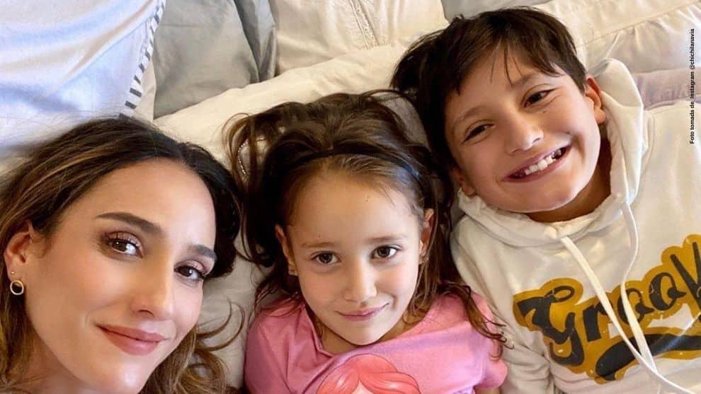 Hija de Chichila Navia posa junto a sus padres y es elogiada