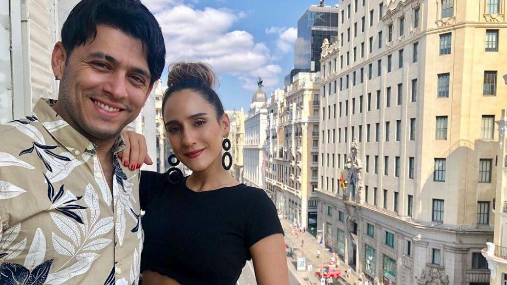 Chichila Navia le expresó su admiración con tierno mensaje a su esposo Santiago Alarcón