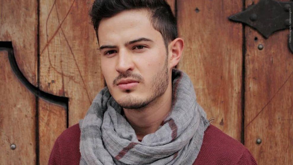 Edinson Gil, actor de la telenovela Pa' Quererte.