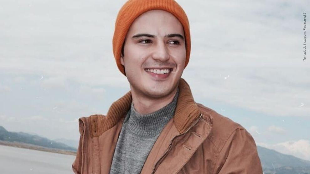 Edinson Gil, actor de la telenovela Pa' Quererte