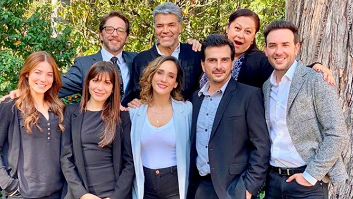Actores de Pa Quererte.