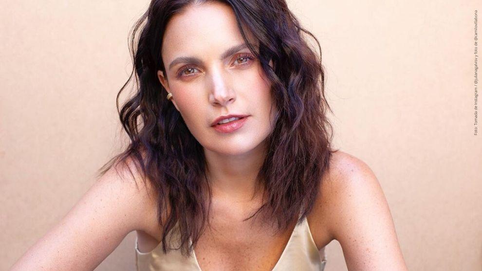 Juliana Galvis posa para el lente de Camilo Villabona.