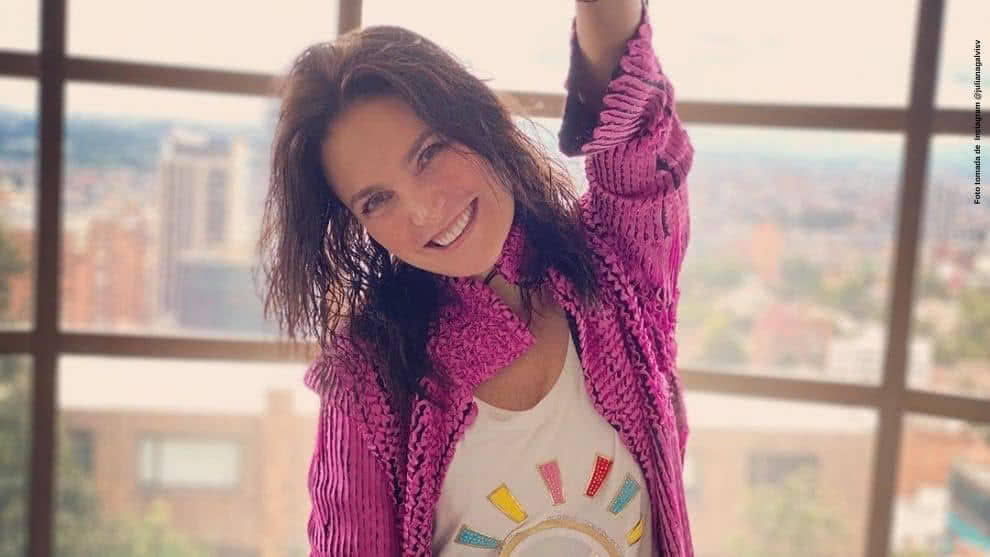 Juliana Galvis celebra cumpleanios en cuarentena