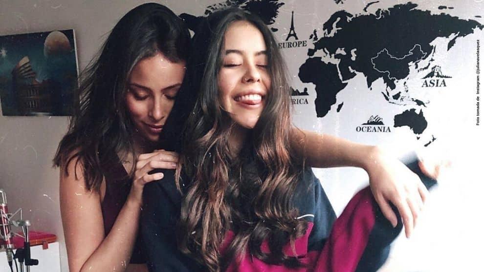 Juliana Velasquez hizo cover de Billie Eilish con su mejor amiga