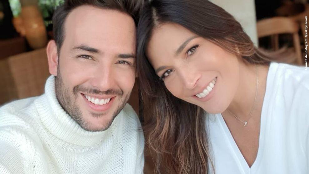 Sebastián Martínez y Kathy Sáenz.