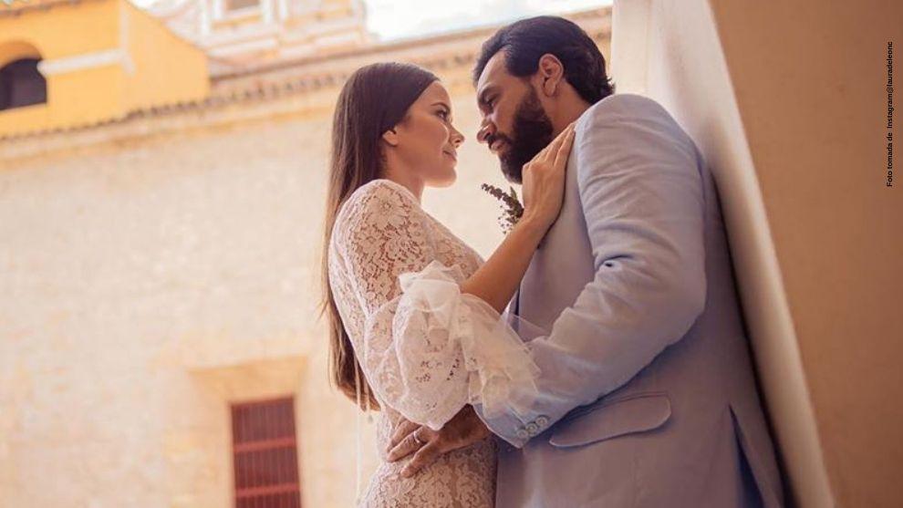 Laura de Leon celebra primer mes de casada con tierna foto