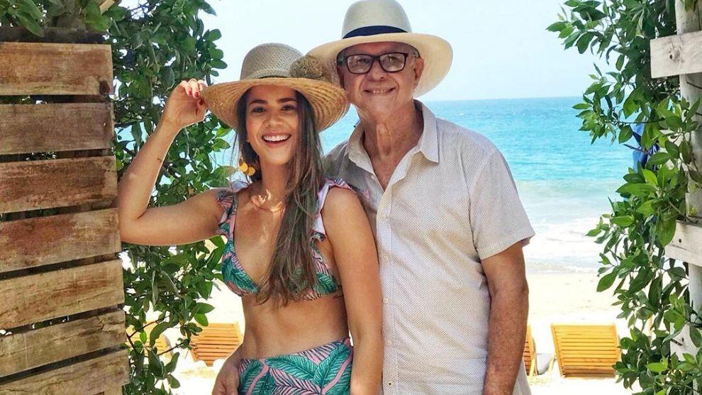 Así fue la celebración doble de cumpleaños de Laura De León y su padre