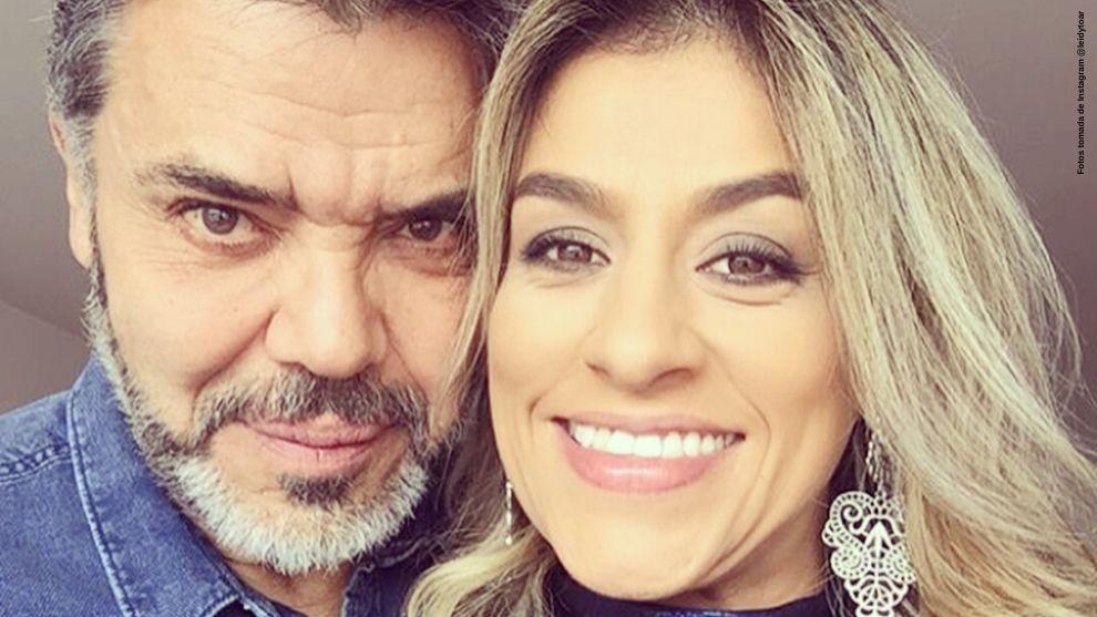 Asi le celebro Lucho Arango el Dia de la Danza a su esposa Leidy Torres