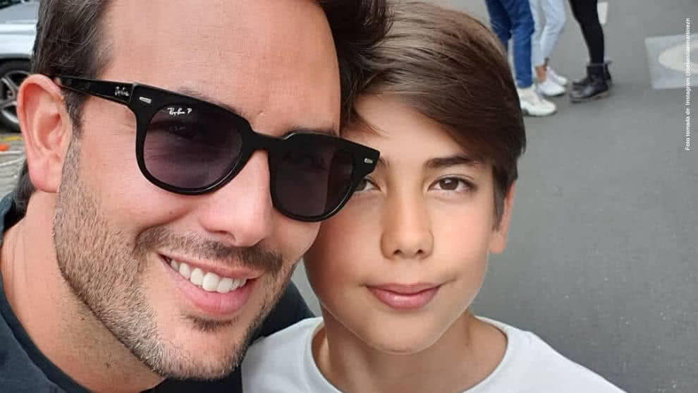 Sebastian Martinez se llevo elogios por foto de su hijo