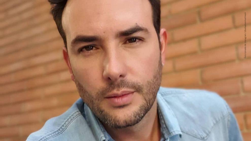 Sebastián Martínez actor de Pa' Quererte.