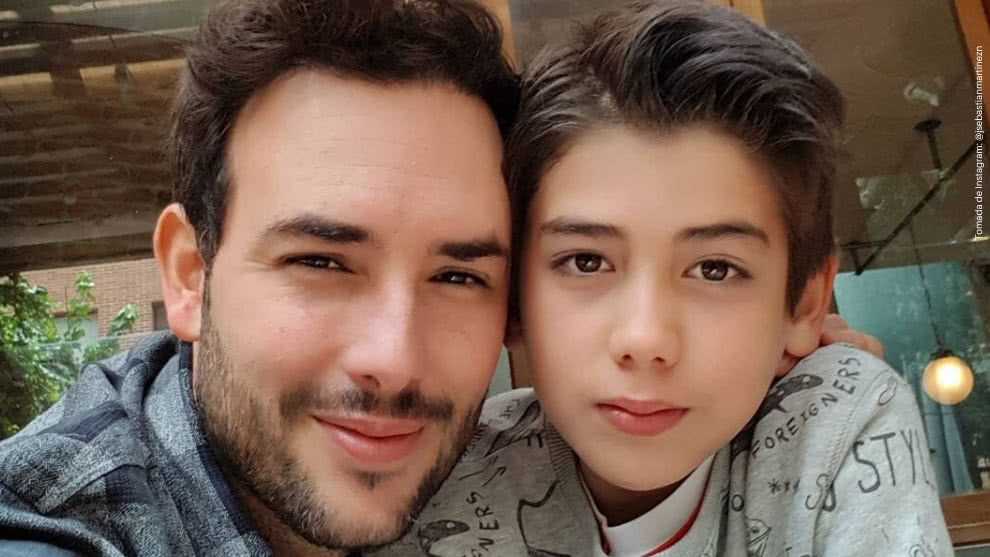 Sebastian Martinez comparte divertido video junto a su hijo Amador