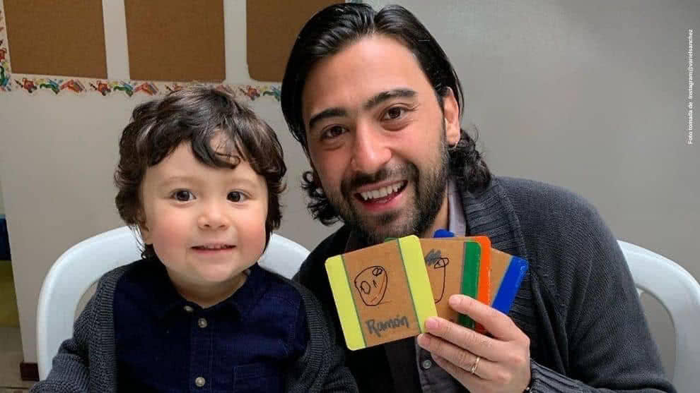 Variel Sanchez y el amoroso mensaje que escribio a su hijo mayor