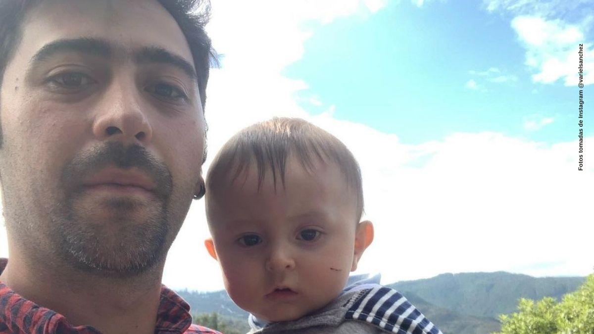 Variel Sanchez muestra a su hijo recolectando huevos y enamora fans