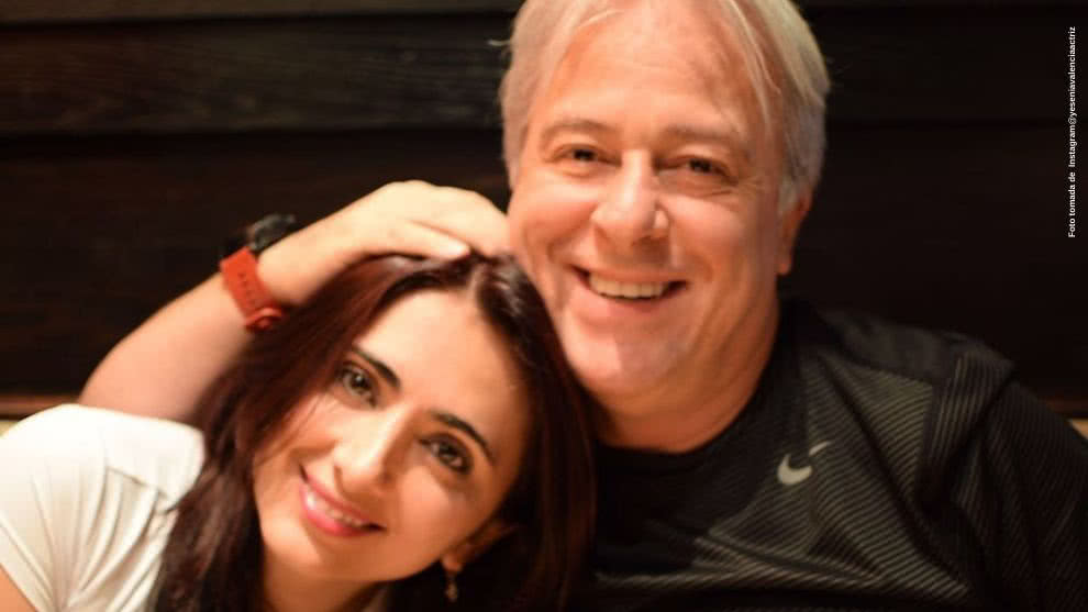Con emotivo mensaje, Yesenia Valencia expresa su amor a su pareja