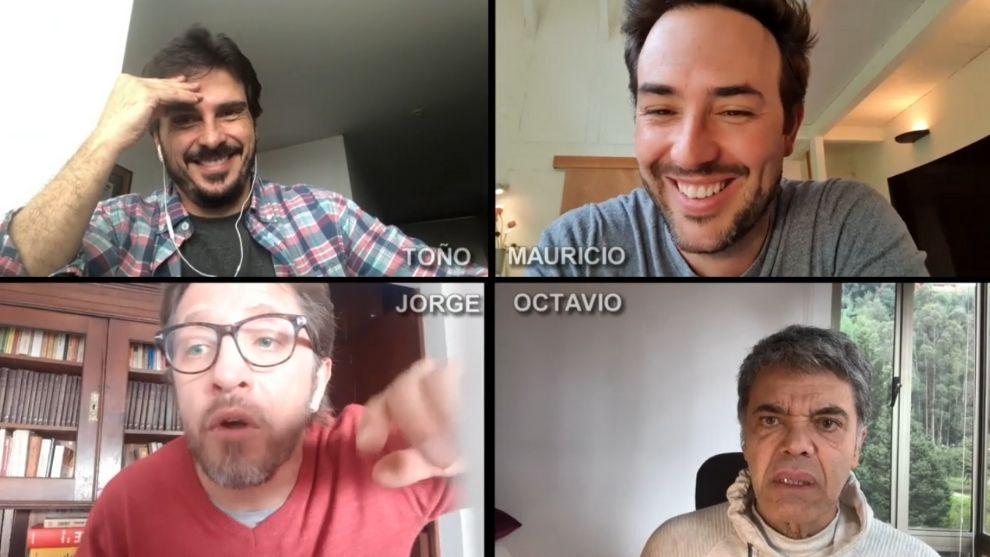 Capítulo 1 | El reencuentro de Mauricio, Toño, Jorge y Octavio
