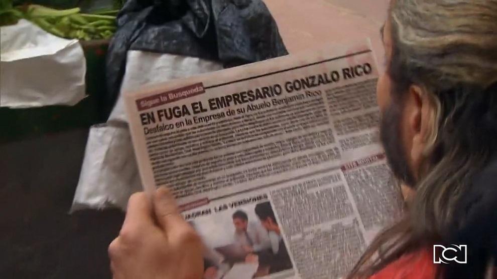 Pobres Rico | Capítulo 7 | Carlos descubre que Gonzalo es buscado por la justicia