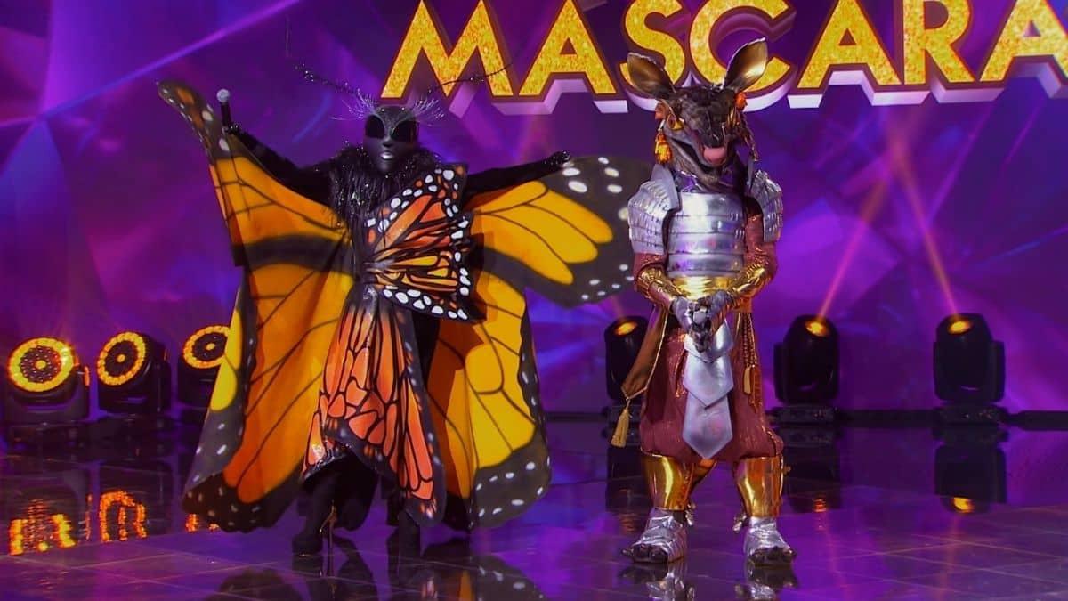 quien es la mascara mariposa y armadillo