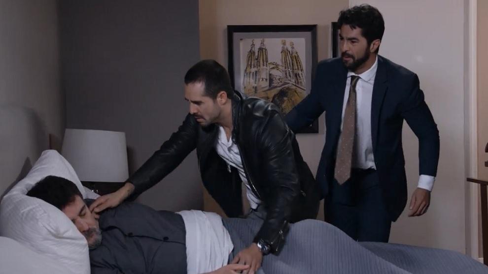 Manuel fallece y Brenda es asesinada por orden de Diego