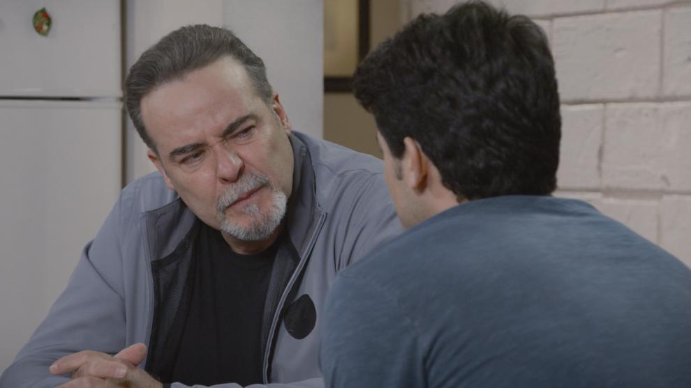 'Oso' se entera que Rafael es su hijo