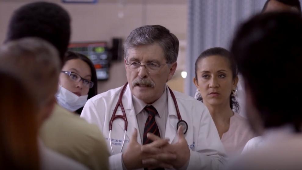 El Dr. Montero anuncia su renuncia del hospital