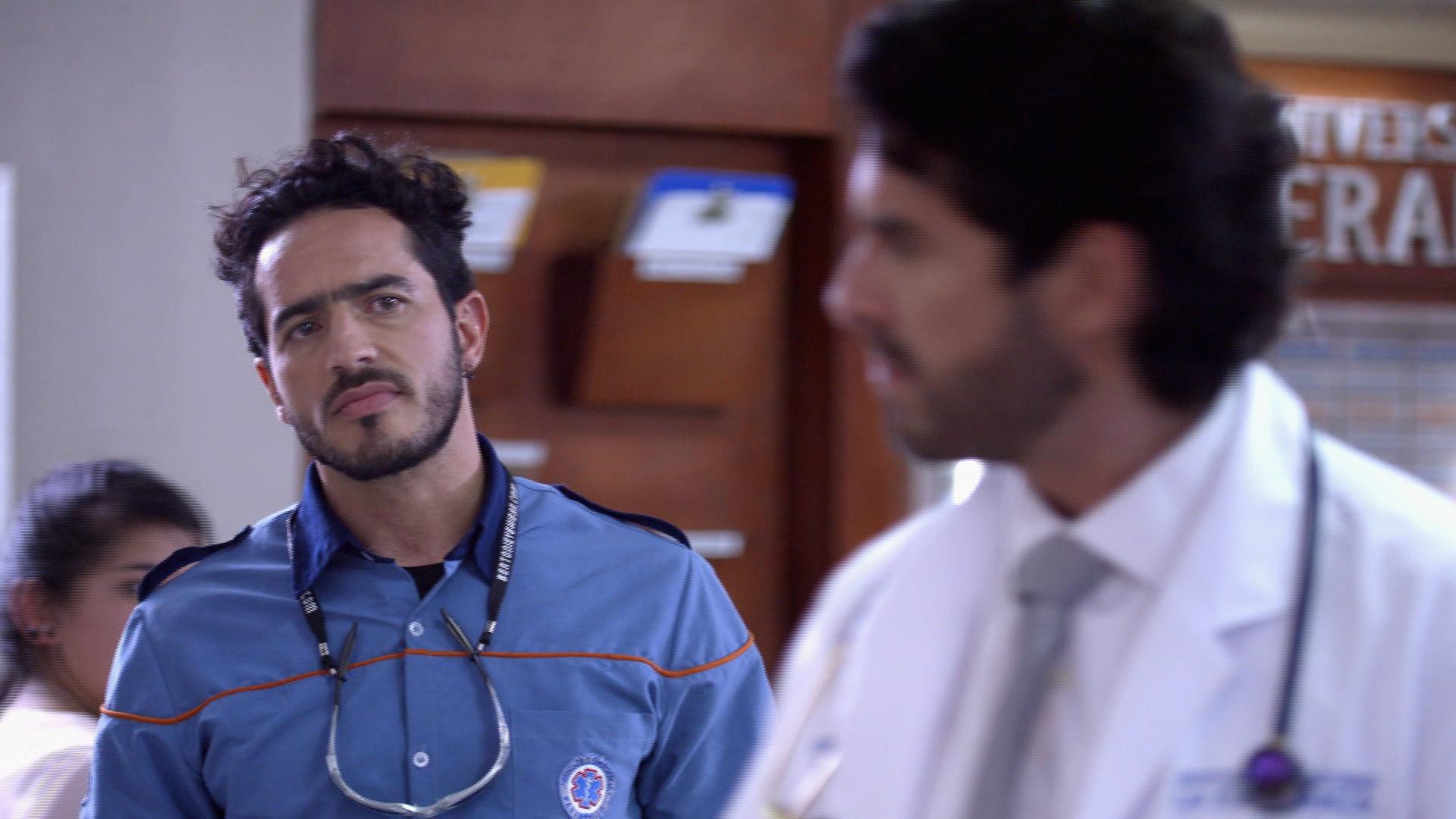 Sala de Urgencias | Capítulo 38 – Sergio será retirado del hospital