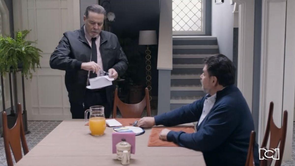 Te doy la vida | Capítulo 26 | Nelson y Domingo se enteran del embarazo de Gina