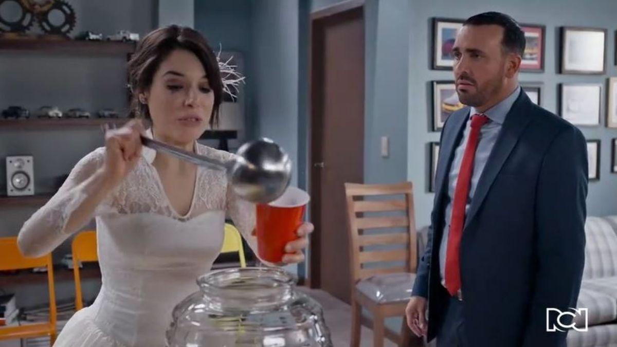 Te doy la vida | Capítulo 21 | Gina tiene intimidad con Agustín