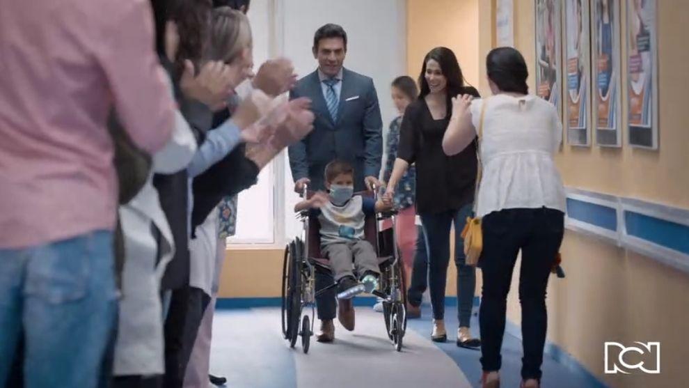 Te doy la vida | Capítulo 10 | Nicolás es dado de alta del hospital