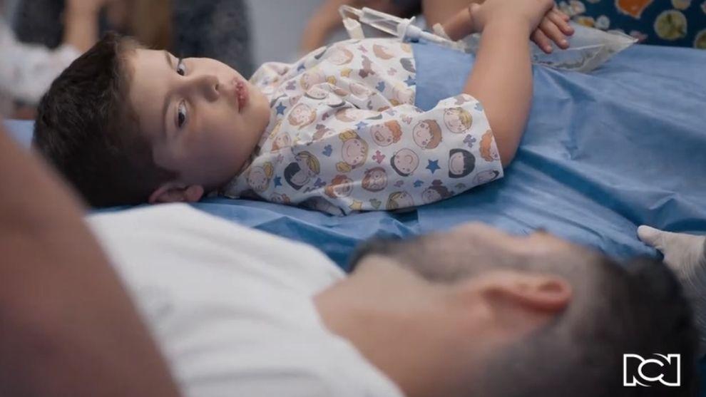 Te doy la vida | Capítulo 4 | Nicolás recibe el trasplante de médula