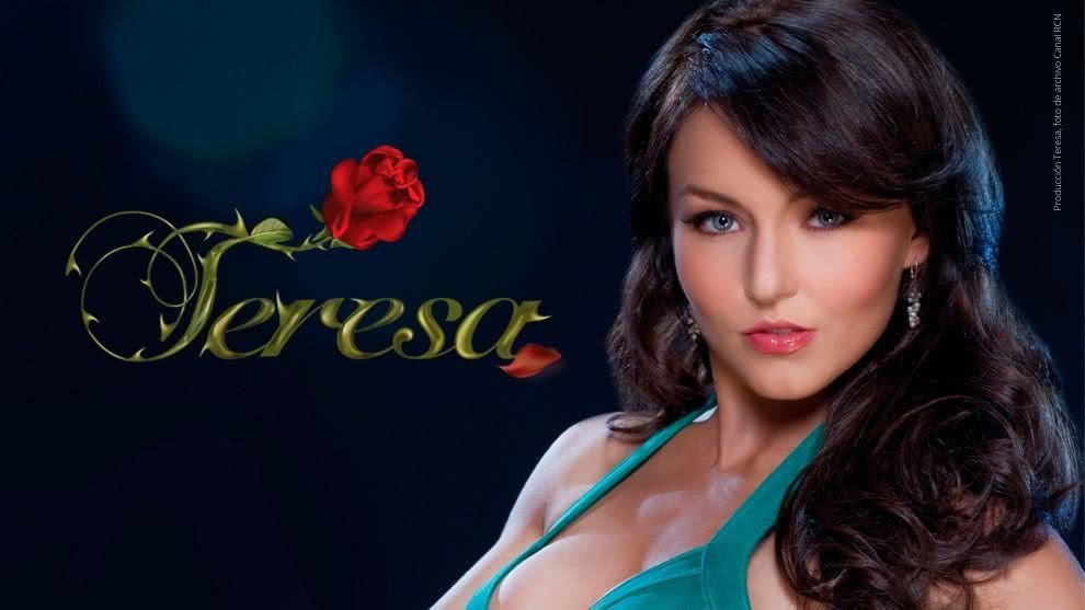 Teresa protagonizada por Angelique Boyer en el Canal RCN