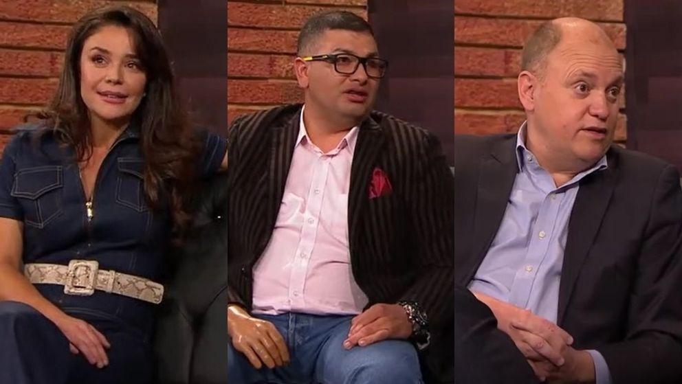 Flora Martínez, Elber Alfonso Rodríguez y Juan Pablo Neira