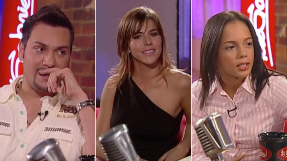 Víctor Manuelle, María Fernanda Yepes y La Chechi Baena.