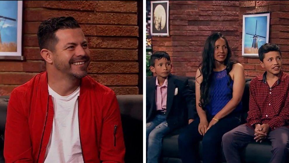 Piter Albeiro y Familia campesina.